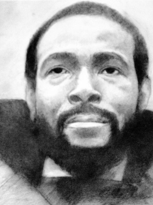 Marvin Gaye by sketch1961